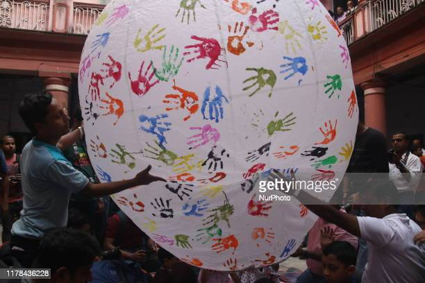 Fanush Festival Paper made hot air balloon Was once the integral part of North Calcutta Babu Culture and it is old tradition to fly Fanush during the...