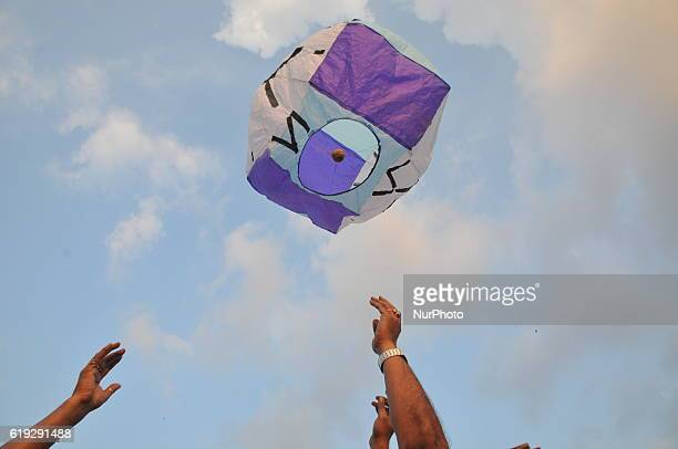 Fanush Festival Paper made hot air balloon Was once the integral part of North Calcutta Babu Culture and it is old tradition to fly Fanush on the day...