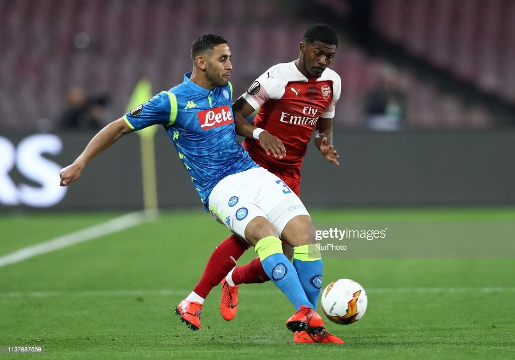 ITA: Napoli v Arsenal - UEFA Europa League