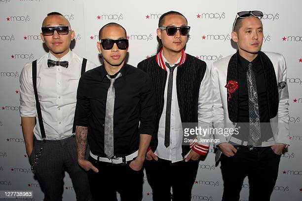 Far East Movement appear at Macy's Passport Presents Glamorama at Orpheum Theatre on September 30 2011 in San Francisco California