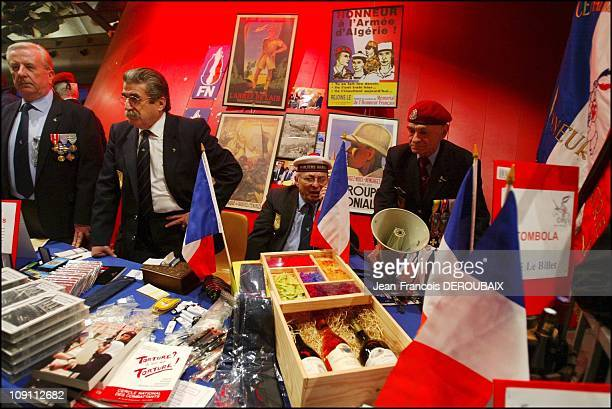 Far Right Wing Leader JeanMarie Le Pen In The ProvenceAlpesCoteD'Azur Area For The 2004 Regional Elections On February 1 2004 In Marseille France...