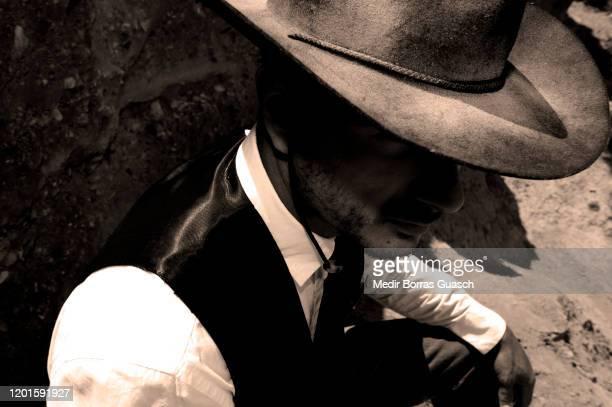 far west cowboy - ウエスタン映画 ストックフォトと画像