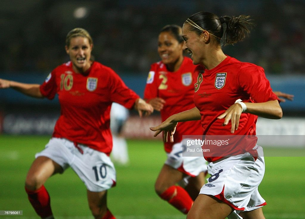 Group A England v Argentina - Women's World Cup 2007 : News Photo