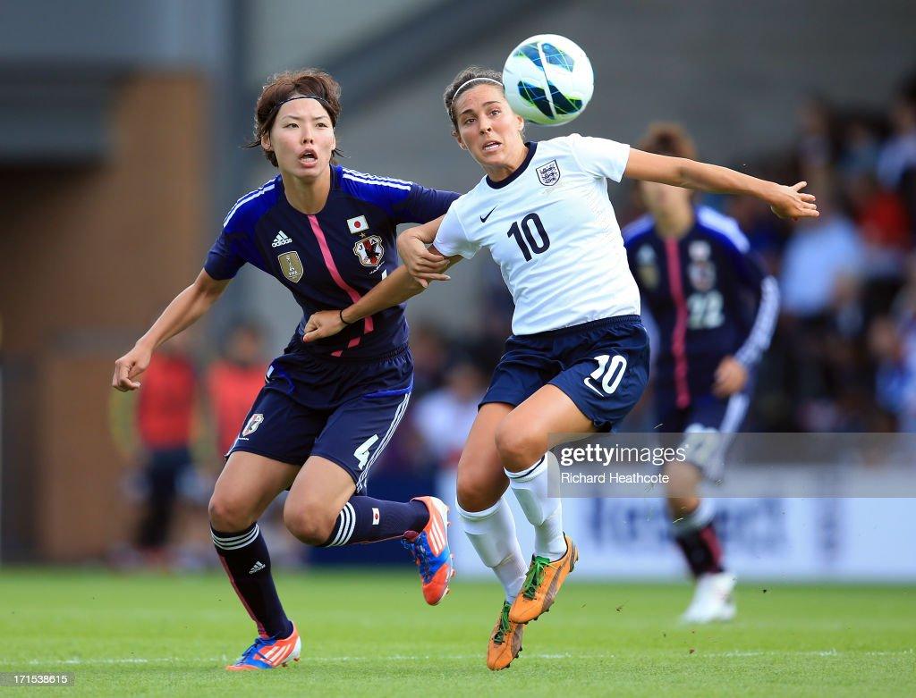 England Women v Japan Women - Women's International Match