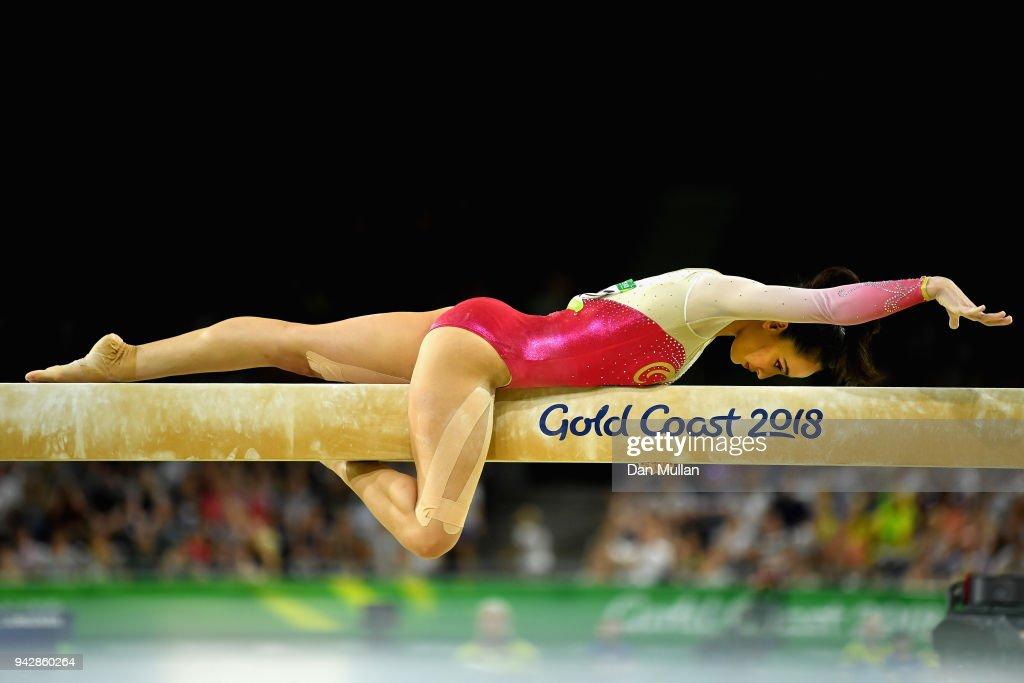 Gymnastics - Commonwealth Games Day 3 : News Photo