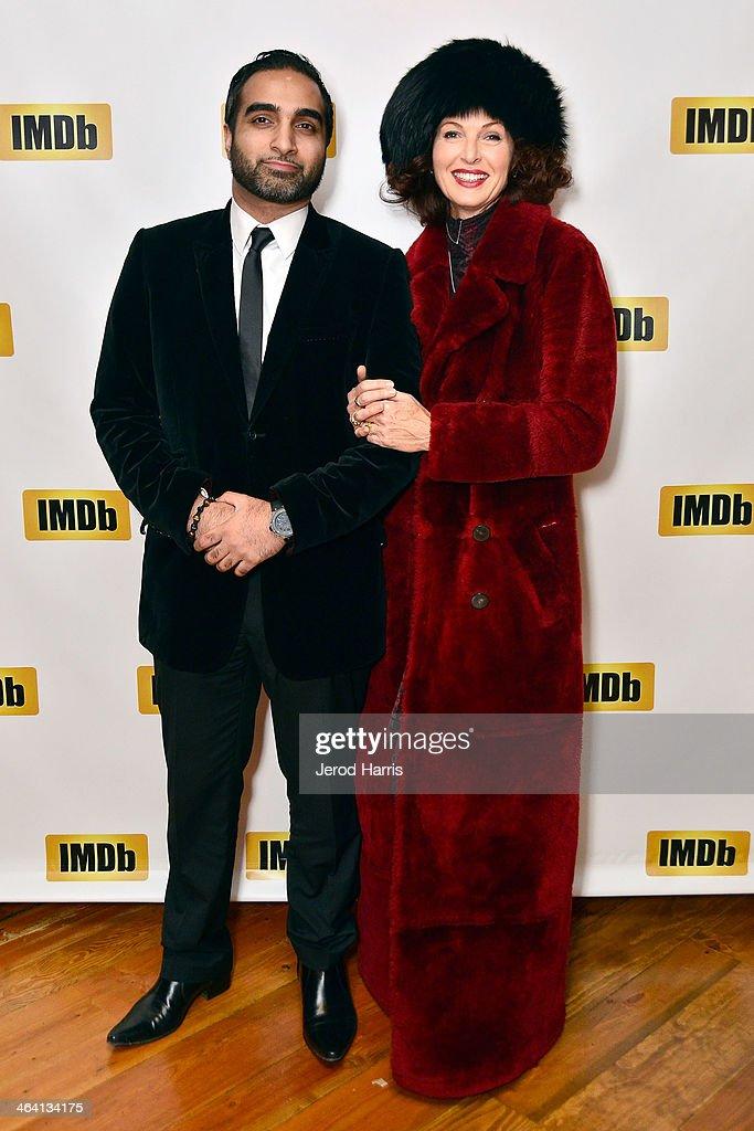 Farah Faizaan and Lorelei Shellist attend the IMDb Sundance