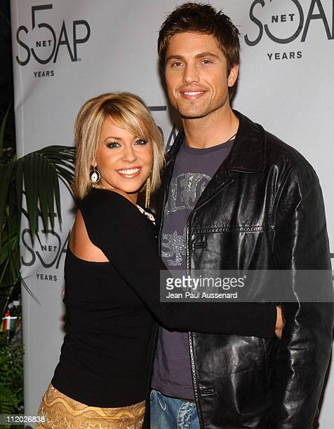 Farah Fath and Eric Winter during SOAPnet 5th Anniversary Party at Bliss in Los Angeles, California, United States.