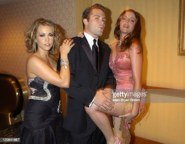 Farah Fath Kyle Brandt and Alexis Thorpe during 31st Annual Daytime Emmy Awards PreTelecast Reception at The Sheraton in New York City New York...