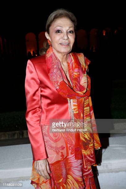 Farah Pahlavi attends the 58th International Art Biennale in Venice Dinner Gala at 'Fondazione Cini Isola Di San Giorgio' on May 08 2019 in Venice...