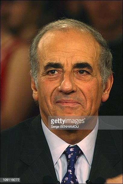Farah Pahlavi On The Tv Show 'Vivement Dimanche' On December 3 2003 In Paris France JeanPierre Elkabbach
