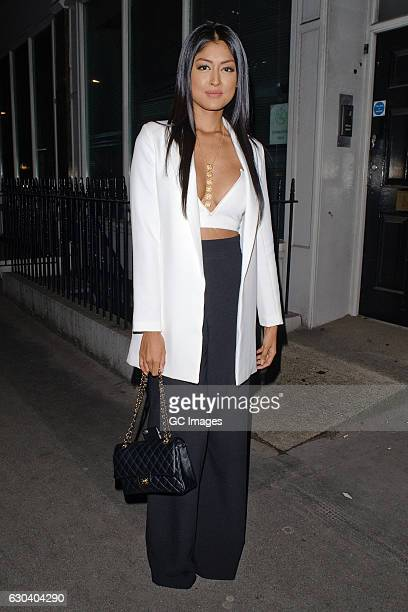 Farah Sattaur attends the Joshua Kane flagship store opening party on December 21 2016 in London England