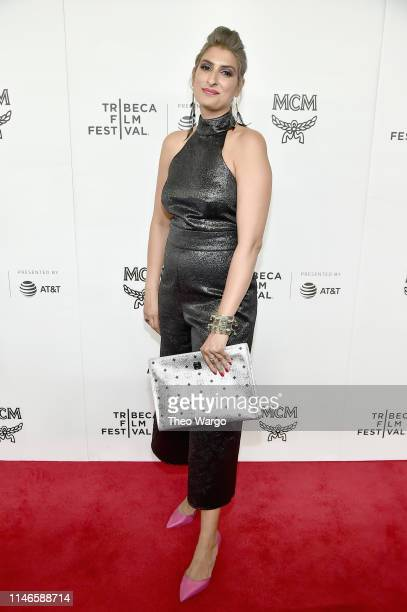 Farah X attends the premiere of The Remix Hip Hop x Fashion at Tribeca Film Festival at Spring Studios on May 02 2019 in New York City