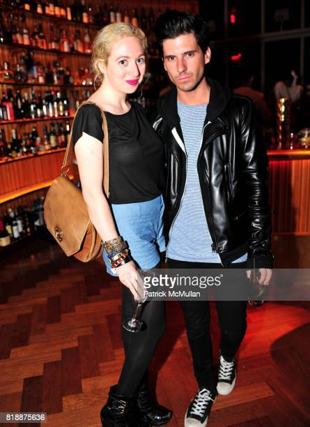 Faran Krentcil and Geordon Nicol attend NOWNESS Presents the New York Premiere of JeanMichel Basquiat The Radiant Child at MoMa on April 27 2010 in...
