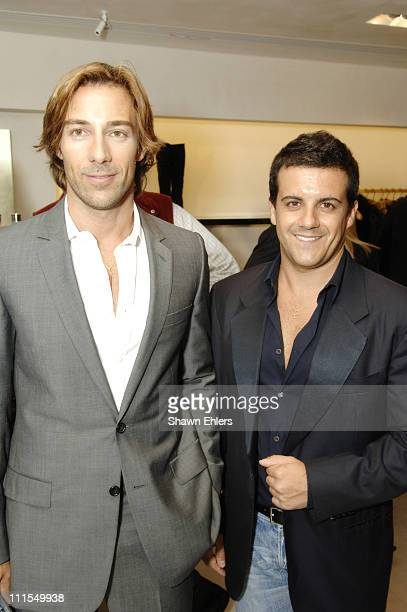 Faraone and Mennella during Roberto Cavalli and Tinsley Mortimer Celebrate New York Fashion Week and His Fall 2006 Collection at Roberto Cavalli...