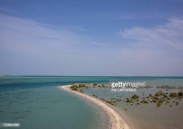 Farasan Saudi Arabia on January 18 2010 A group of 84 islands in the Red Sea lying 40 km off the southern coast of Saudi Arabia the Farasan Islands...
