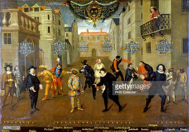 'Farceurs' 1670 French and Italian characters from the Comedia del Arte The Captain is 5th from left Harlequin 6th from left The French playwright...