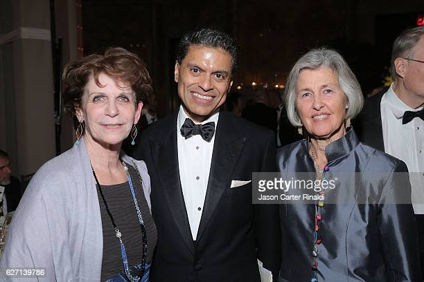 Fareed Zakaria and guests attend The Berggruen Prize Gala Honoring Philosopher Charles Taylor at New York Public Library Astor Hall on December 1...