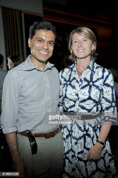Fareed Zakaria and Paula Zakaria attend Screening and Dinner of MARSHALL CURRY's Documentary RACING DREAMS at Core Club on June 28th 2010 in New York...