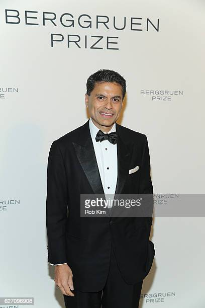 Fareed Zakaria attends the Berggruen Prize Gala Honoring Philosopher Charles Taylor at New York Public Library on December 1 2016 in New York City