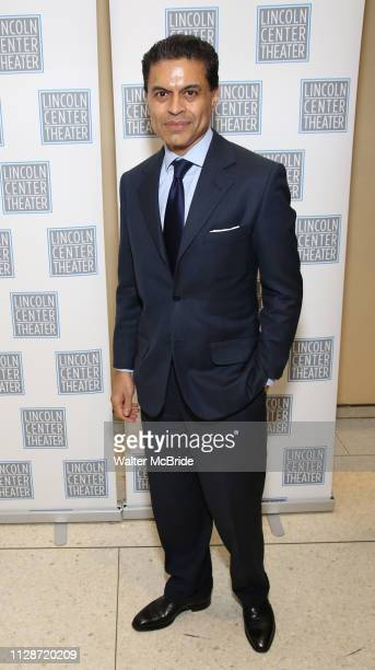 Fareed Zakaria attends the Camelot' Benefit Concert for Lincoln Center Theater After Party at David Geffen Hall on March 4, 2019 in New York City.