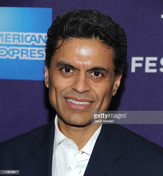 Fareed Zakaria attends the premiere of The Carrier during the 2011 Tribeca Film Festival at AMC Loews Village 7 on April 21 2011 in New York City