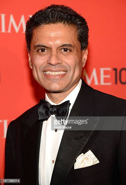 Fareed Zakaria attends TIME 100 Gala TIME'S 100 Most Influential People In The World at Jazz at Lincoln Center on April 23 2013 in New York City