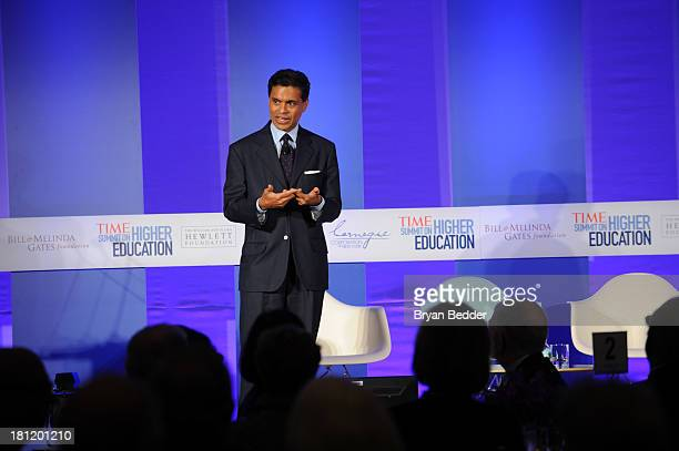 Fareed Zakaria speaks at the TIME Summit On Higher Education Day 1 at Time Warner Center on September 19 2013 in New York City