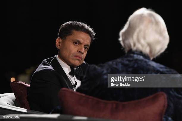Fareed Zakaria speaks onstage during the Berggruen Prize Gala at the New York Public Library on December 14 2017 in New York City