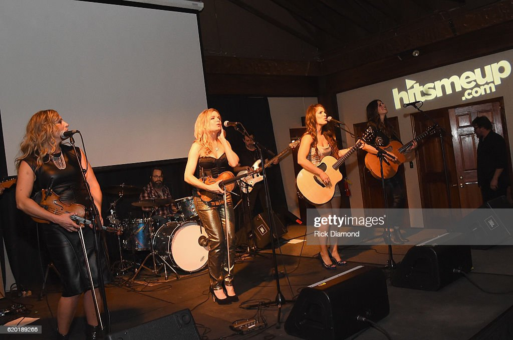 Farewell Angelina performs at the Folds of Honor/CMS Nashville Songwriter of the Year Party during the 50th annual CMA Awards week on November 1, 2016 in Nashville, Tennessee.