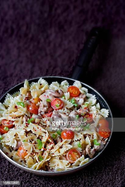 Farfalle with chicken