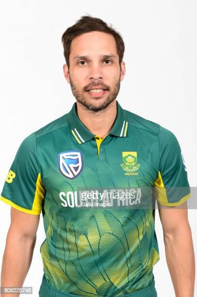 Farhaan Behardien of the Proteas during the Proteas portrait shoot on May 13 2017 in Johannesburg South Africa