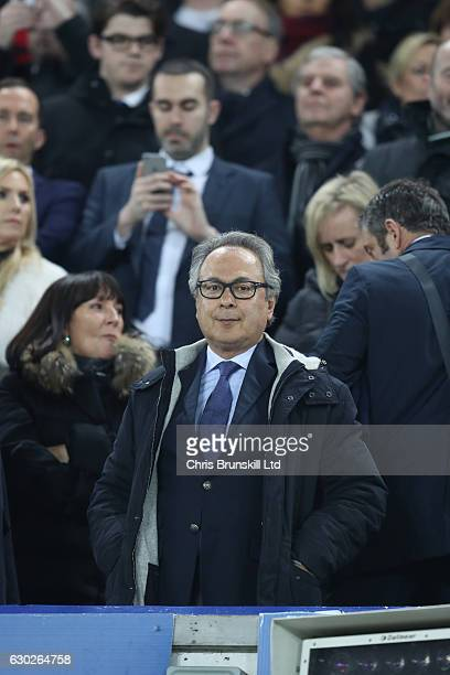 Farhad Moshiri Everton Owner during the Premier League match between Everton and Liverpool at Goodison Park on December 19 2016 in Liverpool England