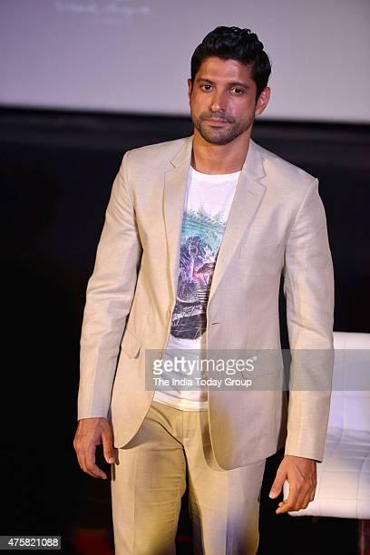 Farhan Akhtar at the teaser launch of the movie Wazir in Mumbai