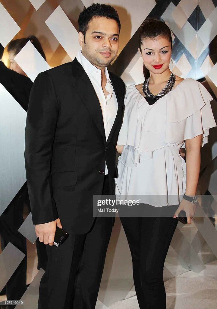 Farhan Azmi with wife Ayesha Takia at an event hosted by Christopher Bailey in Mumbai to celebrate the brand Burberry`s presence in India