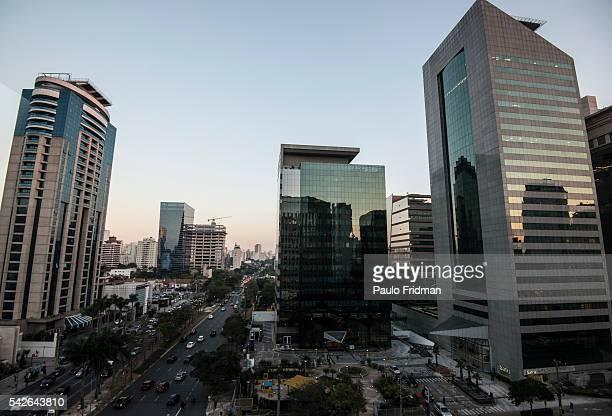 Faria Lima's Avenue a new business avenue in Sao Paulo Brazil