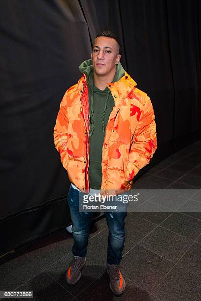 Farid Bang attends the Charity Red Carpet Dinner by Sarah Joelle Jahnel on December 19 2016 in Cologne Germany