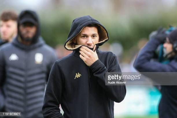 Farid EL MELALI of Angers during the French cup match between Dieppe and Angers on January 5 2020 in Dieppe France