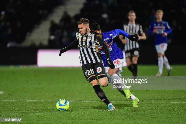 Farid EL MELALI of Angers during the Ligue 1 match between Angers and OGC Nice on January 11 2020 in Angers France