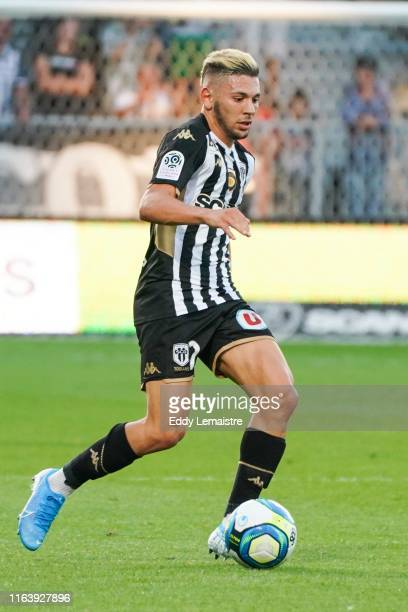 Farid El Melali of Angers during the Top 14 match between Angers and Metz on August 24 2019 in Angers France
