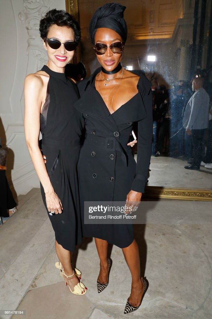 Jean-Paul Gaultier : Front Row - Paris Fashion Week - Haute Couture Fall Winter 2018/2019