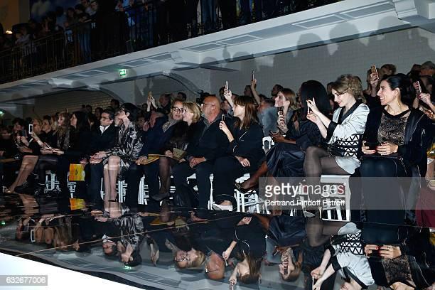 Farida Khelfa, Estelle Lefebure, Arielle Dombasle, Emmanuelle Alt, Owner of Gaultier Manuel Puig, Paz Vega, Gilles Dufour, Catherine Deneuve,...