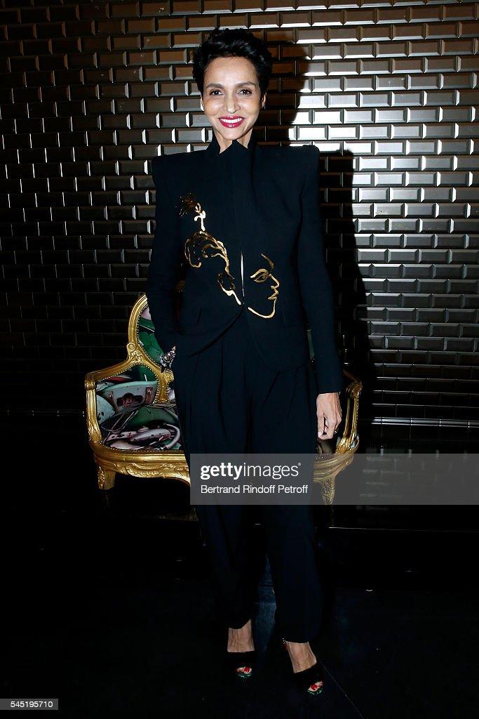 Jean Paul Gaultier : Front Row - Paris Fashion Week - Haute Couture Fall/Winter 2016-2017