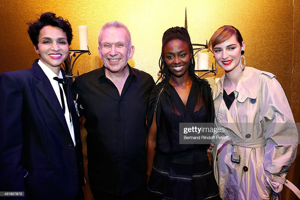 Jean Paul Gaultier  : Front Row - Paris Fashion Week : Haute Couture Fall/Winter 2014-2015