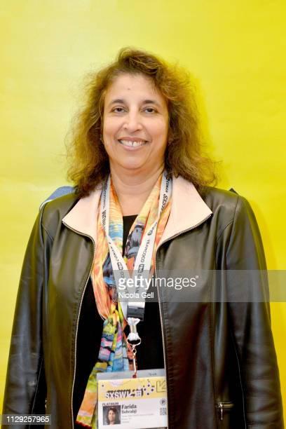 Farida Sohrabji attends Featured Session Maria Shriver Alexandra Socha and Farida Sohrabji with Ashley C Ford during 2019 SXSW Conference and...