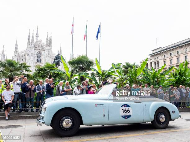 Farina Bristol during 1000 Miles Historic Road Race on May 19 2018 in Milan Italy