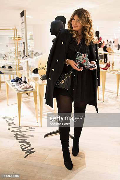 2d21a9bd1ed8e5 Farina Opoku aka Novalanalove poses with Sam Edelman shoes during the  opening of the  Dream