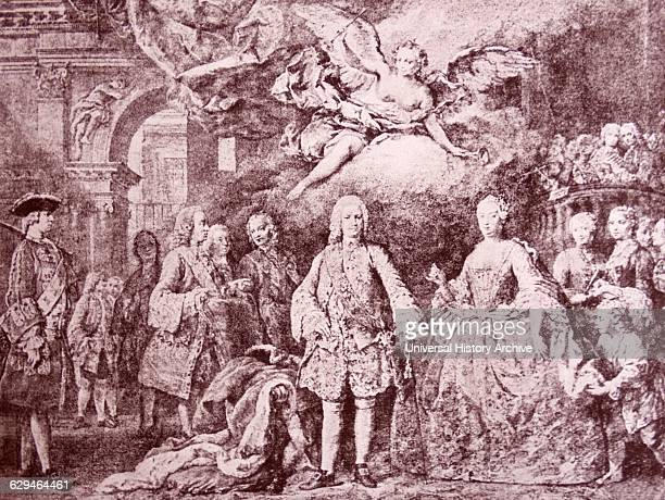 Farinelli Carlo Broschi performs for King Ferdinand VI of Spain Farinelli was a celebrated Italian castrato singer of the 18th century and one of the...