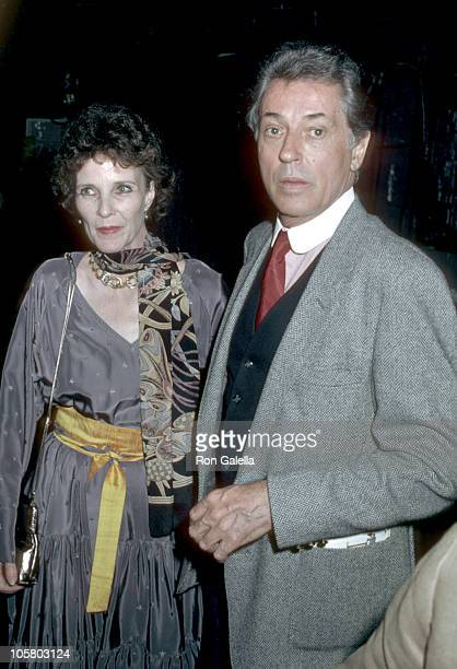 Farley Granger and Janice Rule during Opening of Raquel Welch In Woman of The Year at The Palace Theater in New York City NY United States