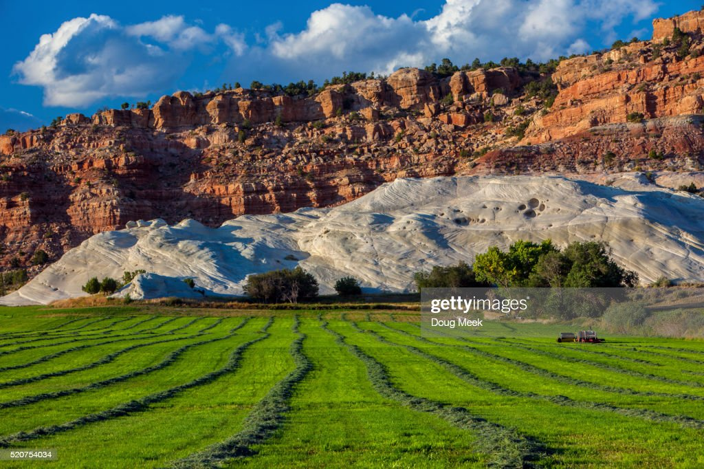 Farm In Grand Staircase Escalante Utah Stock Foto Getty Images