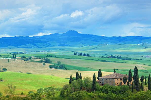 Farm In Tuscany Wall Art